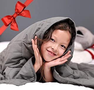 ENITYA Comfort Weighted Blankets for Kids 5lbs (36
