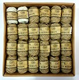 Product Features: Multicolor Jute thread Material: Natural jute MULTI COLOR (24 Roll Each 10 Meters) Width: 2mm, Best use in Arts and Crafts wrapping gifts wrapping, scrapbooking, floral art, weddings gardening and much more. Great for handmade cards...