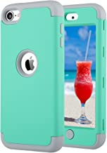 ULAK iPod Touch 7th Generation Case, iPod Touch 6 Case, Heavy Duty Shockproof High Impact Protective Case with Dual Layer ...