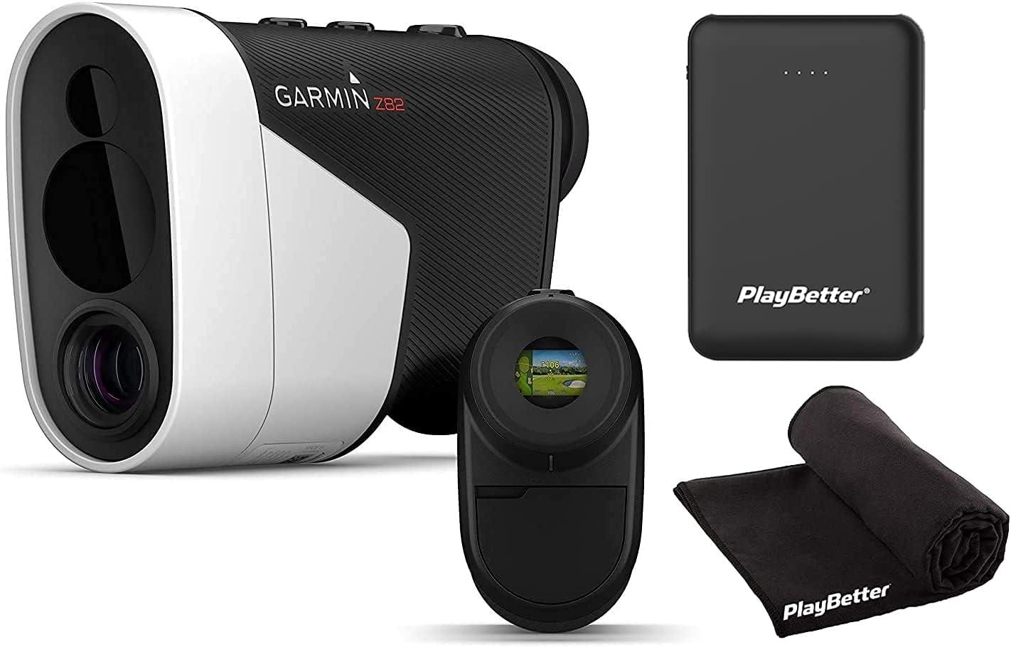 Garmin Approach Z82 Laser Golf with Challenge the lowest price Discount mail order GPS Rangefinder Power Bundle