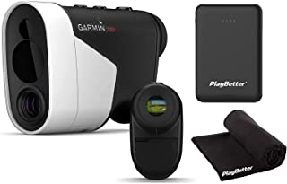 $609 » Garmin Approach Z82 Laser Golf Rangefinder with GPS Power Bundle   Includes PlayBetter Portable Charger & Microfiber Towel...