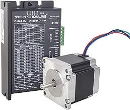 STEPPERONLINE 1 Axis Stepper CNC Kit 1.26Nm (178.4oz.in) Nema 23 Stepper Motor & Digital Stepper Driver 3A DC 24V-48V