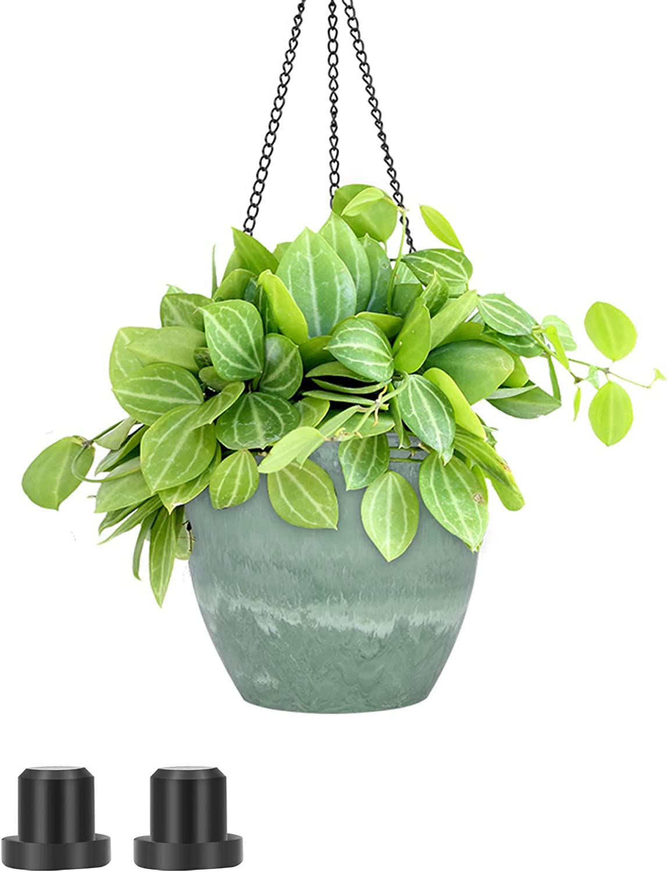 UPMCT Hanging Planters for Max 61% OFF 5% OFF Outdoor Indoor Flower 8 Inch