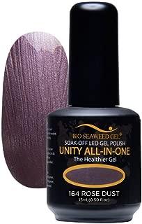 Bio SeaWeed Gel Unity All-In-One UV/LED Gel Polish 164 Rose Dust 15ml