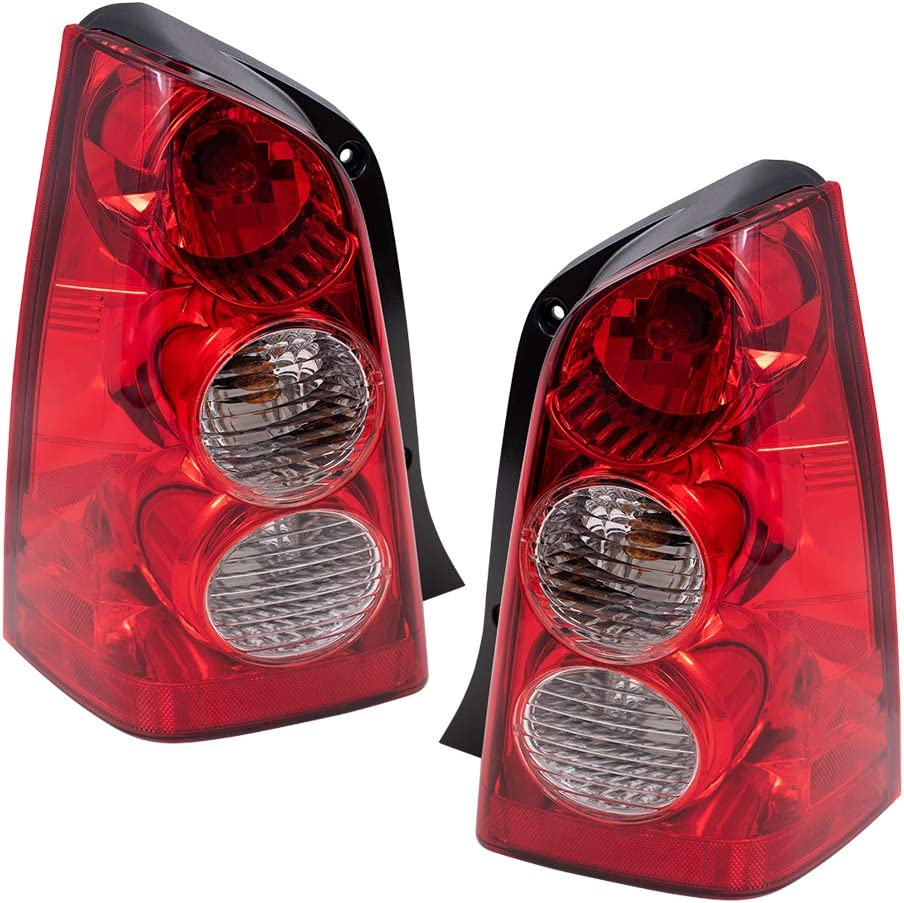 Brock Replacement Driver and Passenger 日本メーカー新品 Com Taillights Tail Lamps 正規品スーパーSALE×店内全品キャンペーン