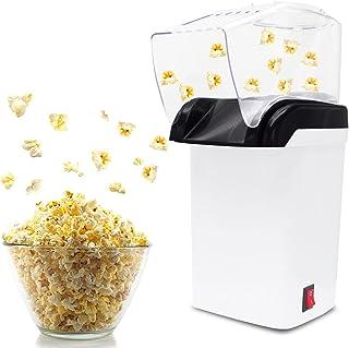Machine à Popcorn à Air,Appareil à Pop Corn,Machine à Pop-Corn à air Chaud,sans Matières Grasses, Circulation d'air Chaud,...