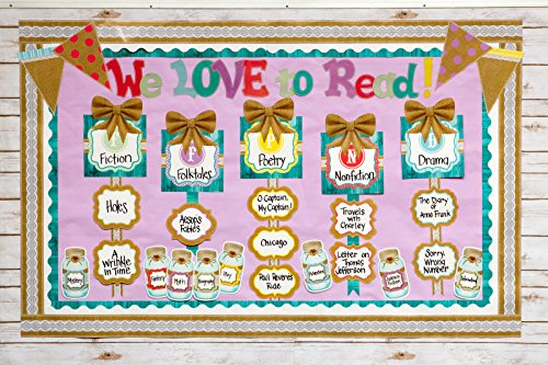Teacher Created Resources Shabby Chic Double-Sided Border (77169) Photo #4