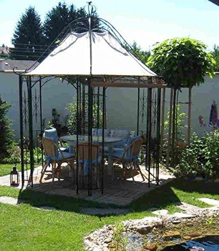 Pavillion metal Carpa Pavilion Cenador Hierro forjado romanco parrilla de hierro: Amazon.es: Jardín