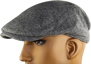 MINAKOLIFE Mens Womens Soft Wool Newsboy Hat Flat Cap Ivy Stretch Driver  Hunting Hat 98320a50647c