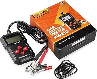 HardWare Testador de bateria de carro Pinhaijing KW210, teste e analisador automático de bateria para bateria, tensão, res...