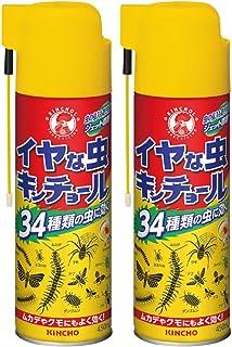 KINCHO イヤな虫キンチョール 駆除・浸入防止 450ml (ムカデ アリ ケムシ) × 2個