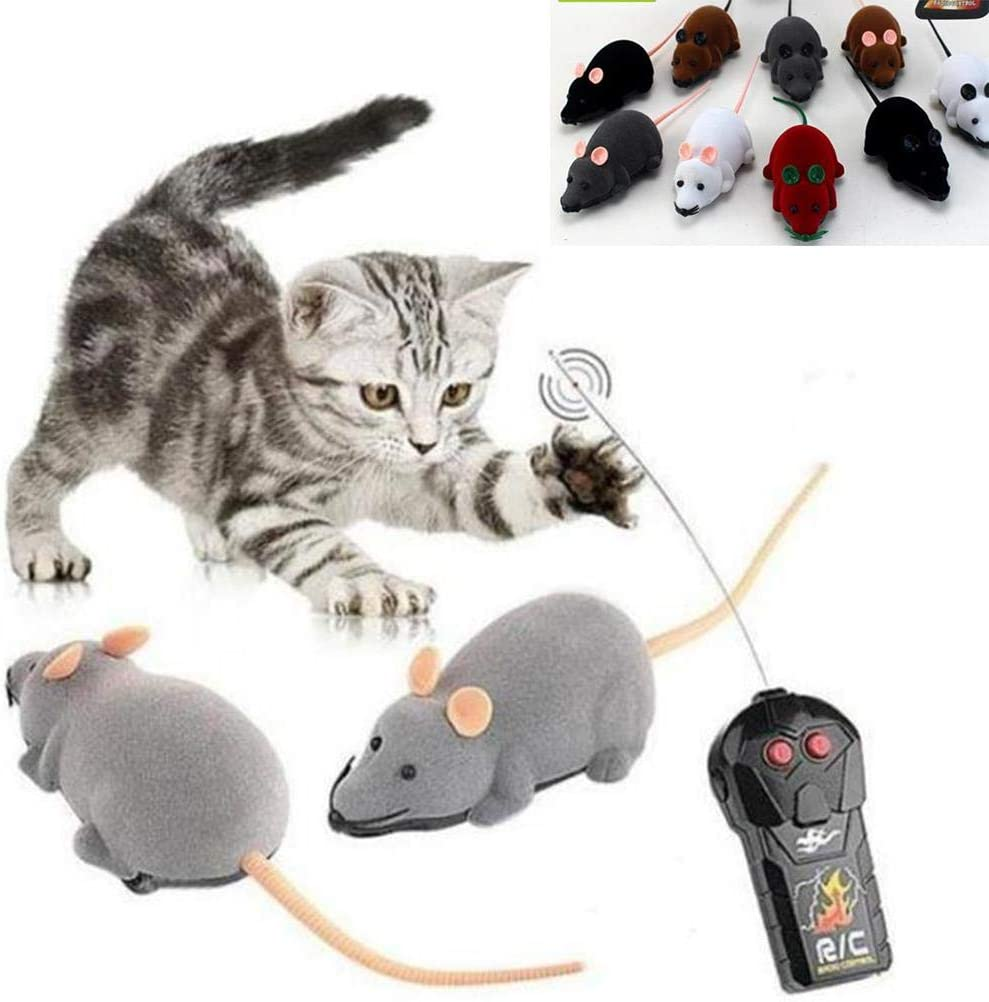 XIDAJIE Genuine Free Shipping Popular brand in the world Remote Control Mouse Wireless Funny Ra for Cat Dog
