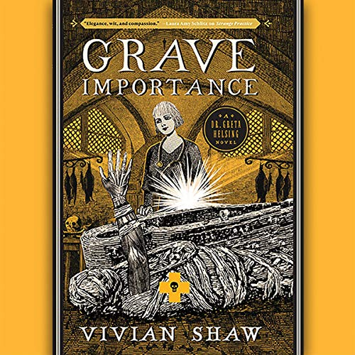 Grave Importance audiobook cover art