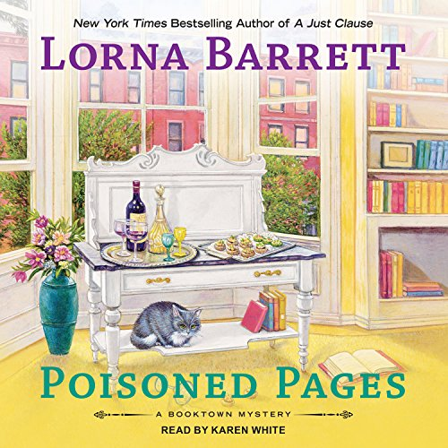 Poisoned Pages audiobook cover art