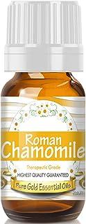 Pure Gold Roman Chamomile Essential Oil, 100% Natural & Undiluted, 10ml