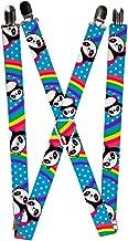 Buckle-Down Men's Suspender - Panda, One Size