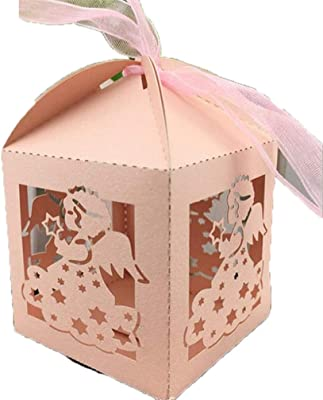 Event & Party Charitable 25pcs Laser Cut Hollow Candy Box With Ribbon Wedding Party Favors Boxes Muslim Eid Mubarak Ramadan Party Decoration Festive & Party Supplies