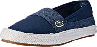 Lacoste Marice 218 1 Women's Fashion Shoes, NVY/LT BLU