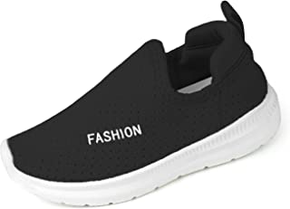 RVROVIC Kids Boys Girls Sneakers - Breathable Mesh Lightweight Slip-On Toddler Casual Walking Running Shoes