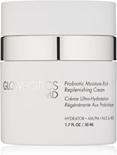 Glowbiotics MD Probiotic Moisture Rich Replenishing Anti-Aging Cream for Excessively Dry and Sensitive Skin, 1.7oz
