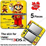 Super Mario Maker Special Edition Skin Sticker Decal Cover #2 for NEW 3DS XL