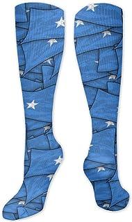 MISS-YAN, Calcetines para hombre y mujer, diseño de bandera de Somalia