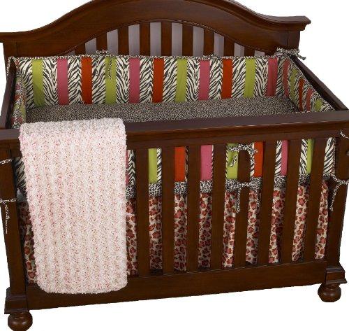 Cotton Tale Designs 4 Piece Bedding set, Here Kitty Kitty by Cotton Tale Designs