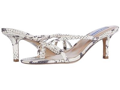 Steve Madden Lolla Heeled Sandal (Beige Snake) Women