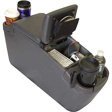 TSI Products 57315 Plug N Go Grey Powered Minivan Console