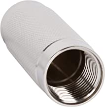 Whipped Cream Dispenser Cartridge Holder Replacement - Threaded Cap - Stainless Steel