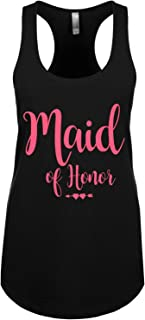 Couples Apparel Sparkly Bride and Bridesmaid Tank Tops Bachelorette & Bridal Party Shirts -