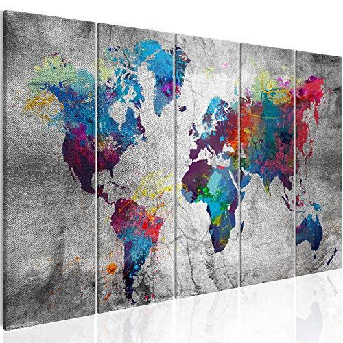 B&D XXL - Bilder, Poster, Kunstdrucke & Skulpturen in #04, Größe 200x80 cm Silberbild