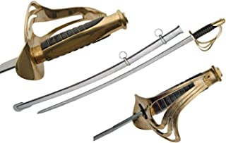 SZCO Supplies 902931-SPL 1860 Cavalry Sword, Black