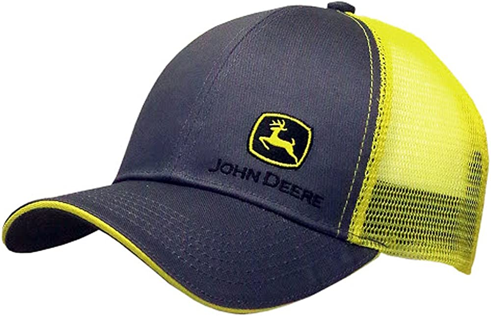John Deere Men's Standard 13080428CH, Grey, One Size