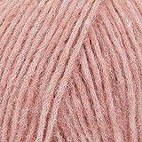 Baby Alpaca y lana de merino, 4 medianos, Worsted, Aran, Drops Air, 1.8 oz 164 yardas (29 rosa viejo)