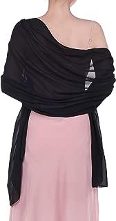 black tulle shawl