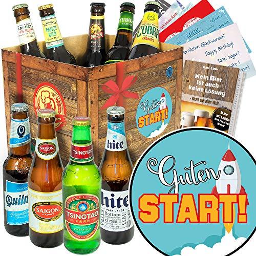 Guten Start - Biere aus der Welt - guten Start Geschenk