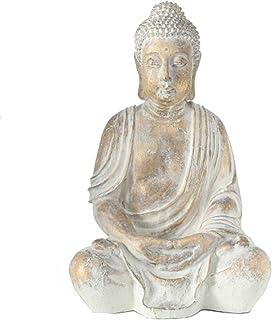 Home Collection Maison Décorations Accessoires Sculpture Statue Bouddha Assis H 67 cm