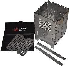 Best bushbox titanium outdoor pocket stove Reviews