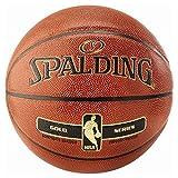 Spalding NBA Gold In/out 76-014Z Balón de Baloncesto, Unisex, Naranja, 7