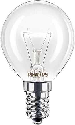 2 x Philips Oven 40w Lamp SES E14 Small Screw Cap 300° Cooker Light Bulb Fits AEG/Bosch/Siemens/Neff/Hotpoint