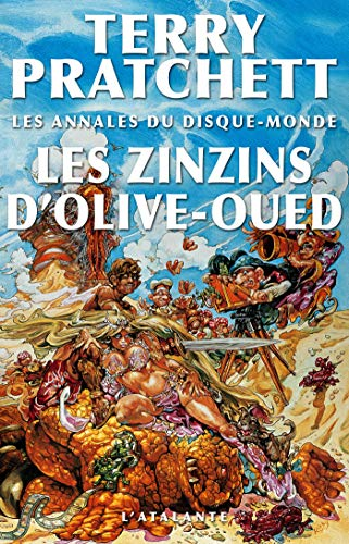 Les Zinzins d'Olive-Oued: Les Annales du Disque-monde, T10