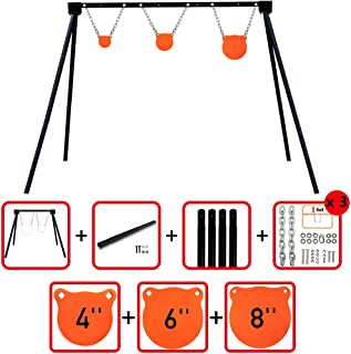 Highwild Steel Target Stand AR500 Shooting Target System Complete Kit Combination (6)