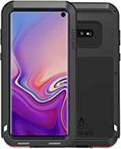 Goodaa Galaxy S10 Metal Case, Armor Tank Aluminum Shockproof Military Heavy Duty Protector Cover Hard Case Drop Proof Aluminum Alloy Protective Sturdy Protective Shell Wireless Charging Support