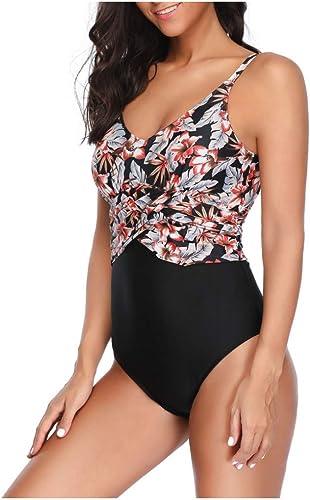 CHENG Bikinimaillot De Bain Une Pièce Maillot De Bain Maillot De Bain Push-Up Bikini Maillot De Bain Femme Taille Haute