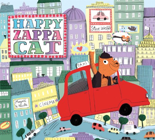 Happy Zappa Cat (English Edition)