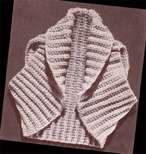 Hug Me Tight Bolero Shrug Knit Vintage Knitting Pattern (English Edition)