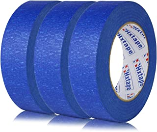 Hxtape Professional Blue Painters Tape,Easy and Clean Removal Trim Edge Finishing Masking Tape (1