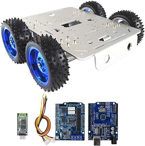 Homyl C300 Blautooth Funktion RC-Steuerroboter Fahrgestell Kit Für DIY, Abschlussdesign, Wettkampfdesign, Unterricht - Mehrfarbig Blautooth Treiber Kit
