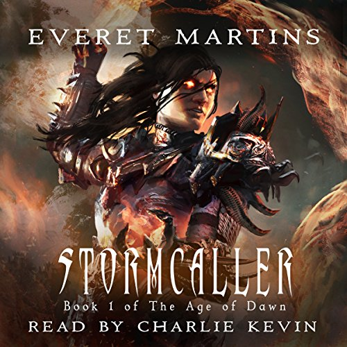Stormcaller audiobook cover art